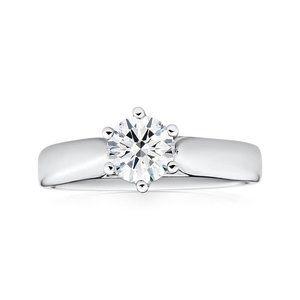 Jewelry - 2 carat new Sparkling round cut diamond engagement